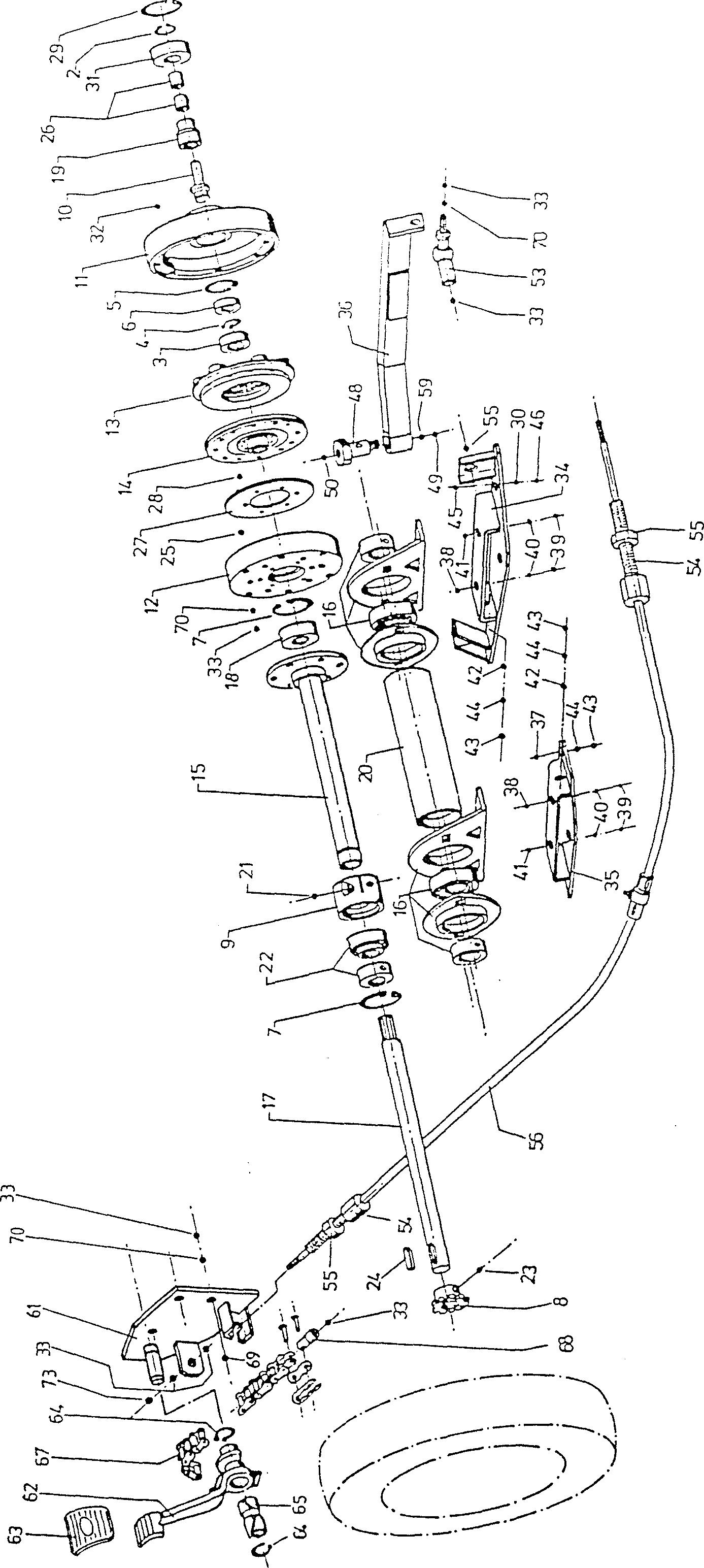 Hexagonal vis avec GEW à tête DIN 933 8.8 Acier galv rép Disp M 3-M 6